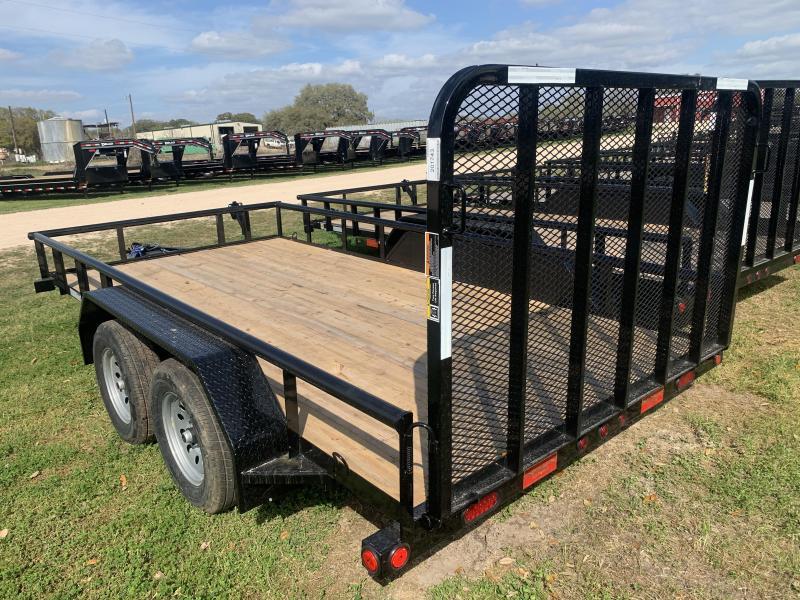 2020 Load Trail 83X14 UTILITY 4' GATE