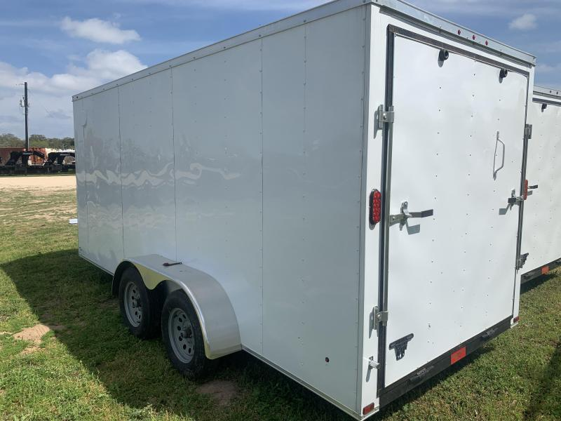 2020 Primetime 7X16 ENLCOSED W/ RAMP DOOR