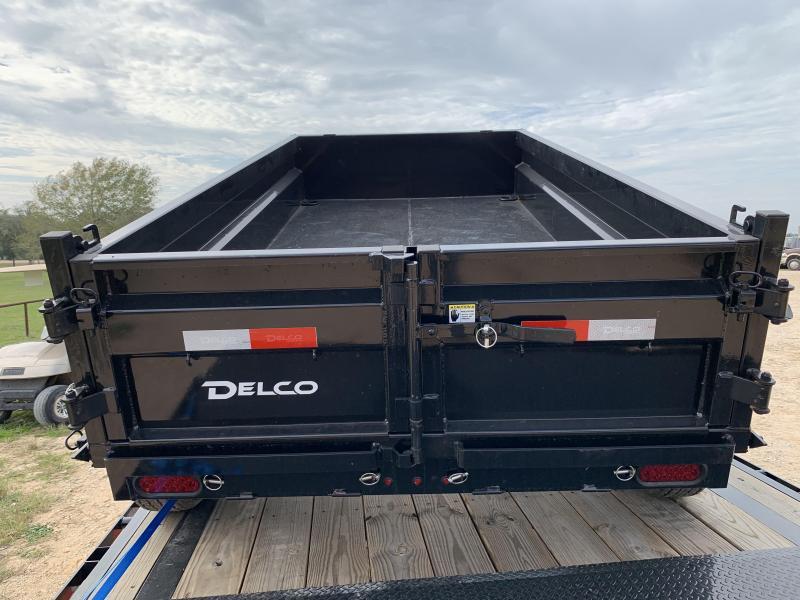2020 Delco Trailers 5X10 DUMP 7K