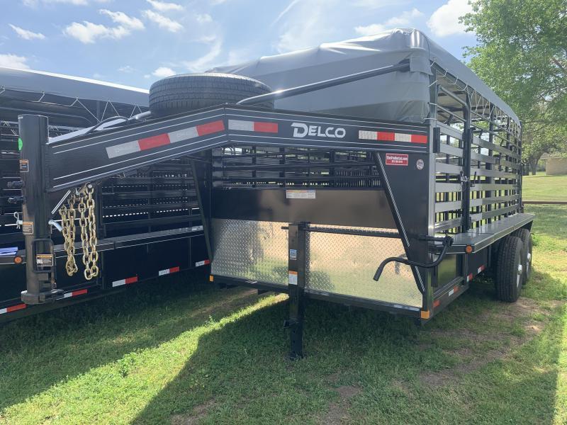 2020 Delco Trailers 6 8 X 16 G. BARTOP