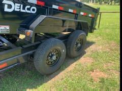 2020 Delco Trailers 83X14 14K DUMP HYD JACK