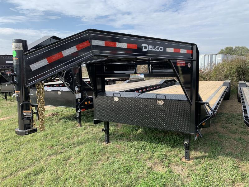 2020 Delco Trailers 102X40 CARHUALER 3-7K AXLES