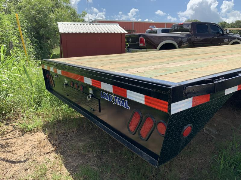 2019 Load Trail 34' FLATBED WITH SLIDE IN RAMPS