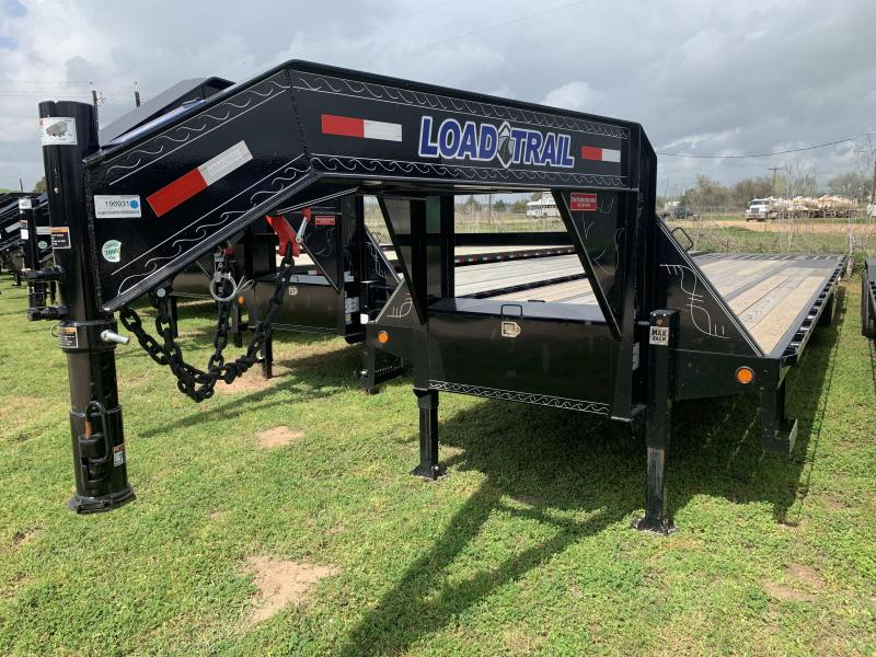 2020 Load Trail 40' HYDRO TAIL W/ HYD JACKS GOOSENECK