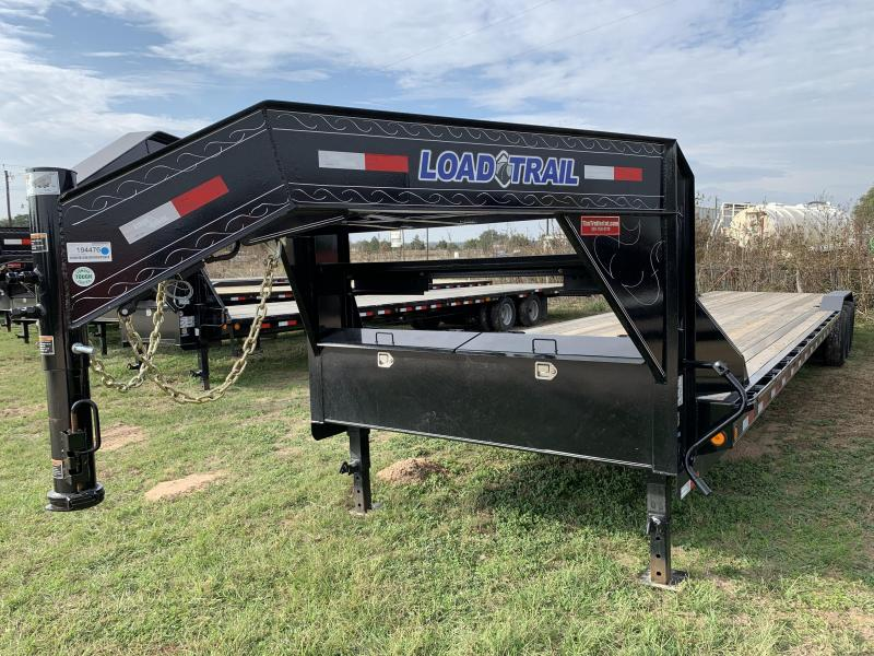 2020 Load Trail 102X40 GOOSENECK SLIDE IN RAMPS