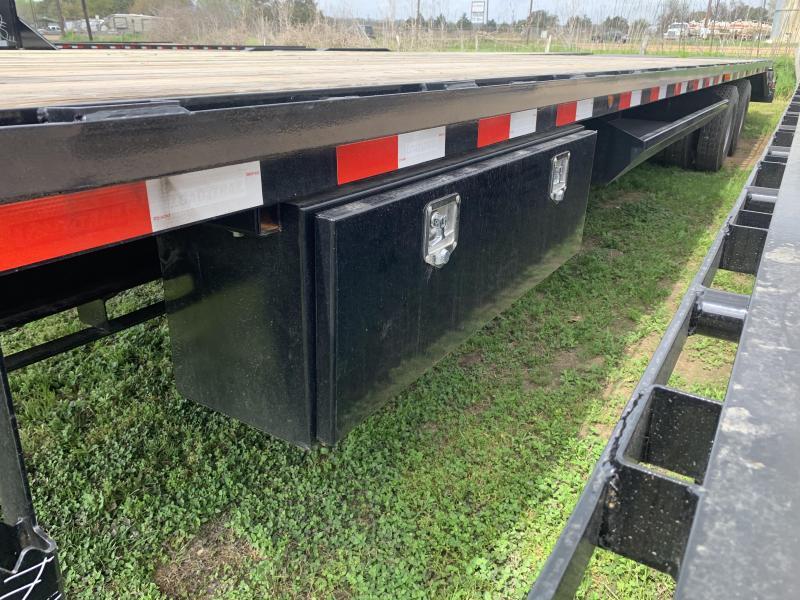 2020 Load Trail 36' FLATBED MAX RAMPS HYD JACKS