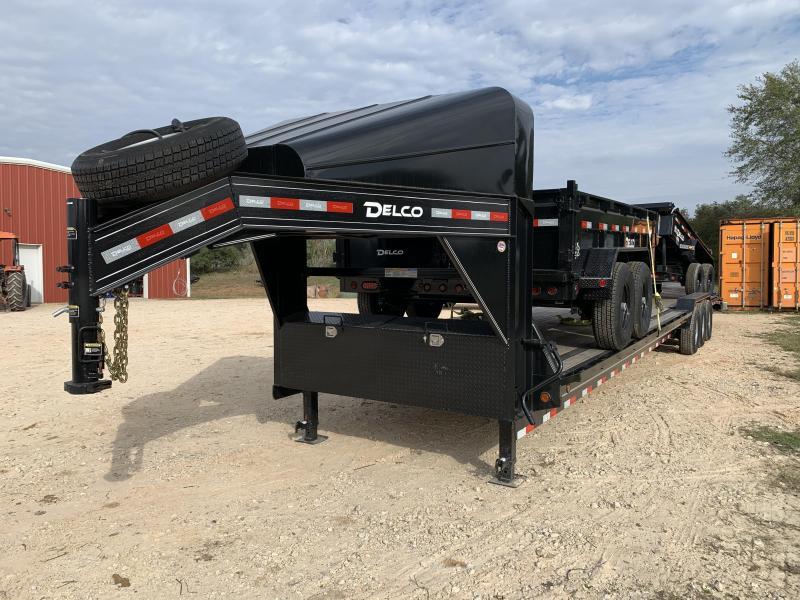 2019 Delco Trailers 102X40 TRIPLE AXLE CARHAULER