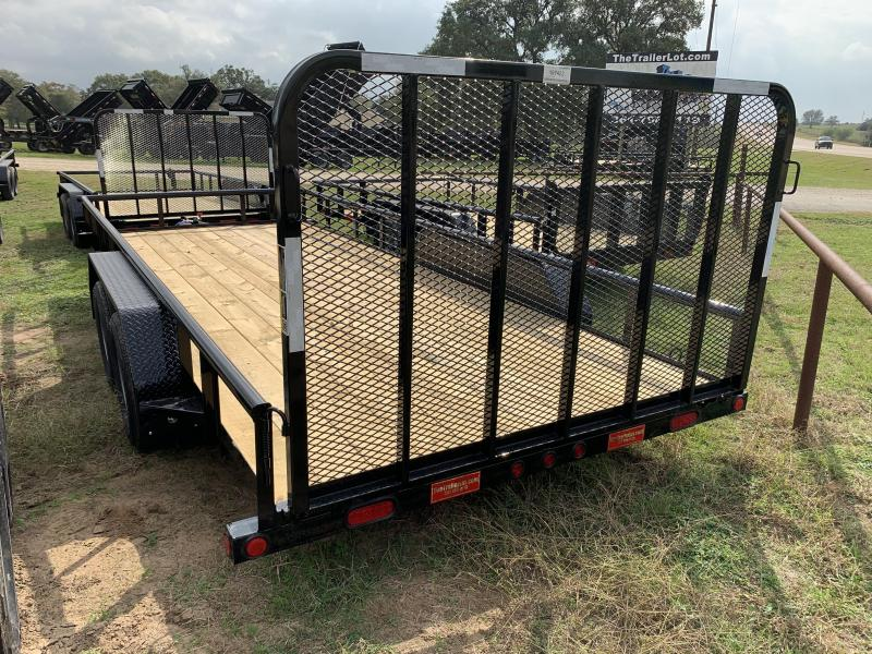 2020 Load Trail 83X18 PIPETOP 4' GATE