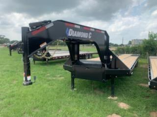 2020 Diamond C Trailers 40' GOOSENECK AIR RIDE HYDRO TAIL