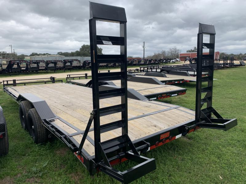 2020 Load Trail 102X24' LOWBOY FOLD UP RAMPS