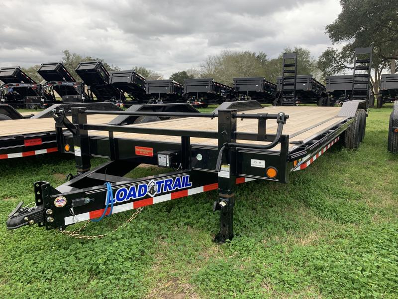 2020 Load Trail 102X24' LOWBOY FOLD UP RAMPS