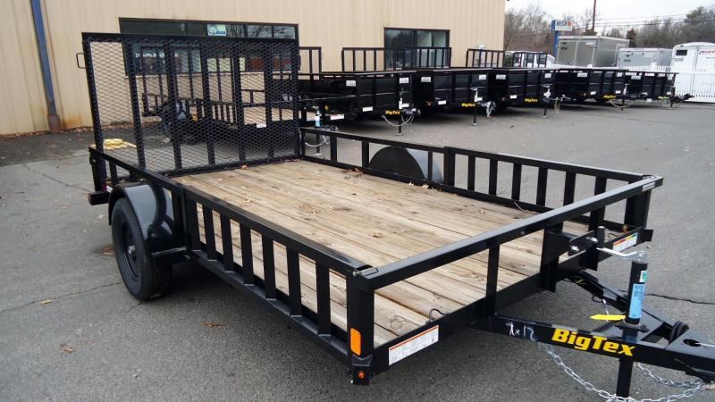 2020 Big Tex Trailers UT 7X12 35SA 12BK RSX BLACK Utility Trailer
