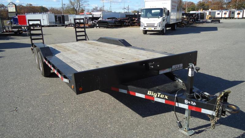 USED 2017 Big Tex Trailers 8X20 10DF-20 Equipment Trailer