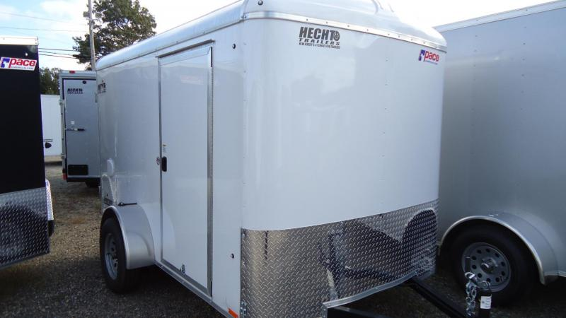 2020 Pace American 6X10 JT SI2 SVNT WHITE Enclosed Cargo Trailer