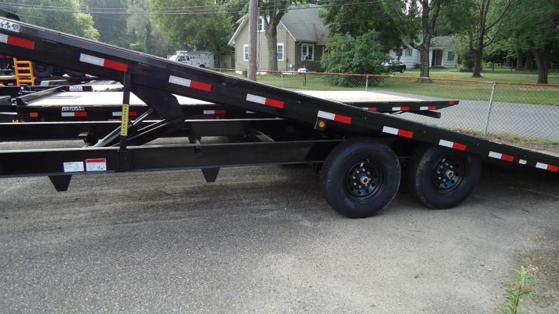 2020 Big Tex Trailers EH 8.5X24 14OT 24BK TILT BLACK Equipment Trailer