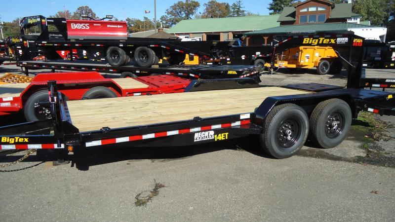 2020 Big Tex Trailers EH 7X18 14ET 18BKMR MEGA BLACK Equipment Trailer