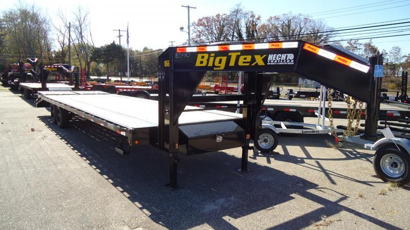 2020 Big Tex Trailers EH 8.5X25 16GN 20BK5DT MEGA BLACK Equipment Trailer