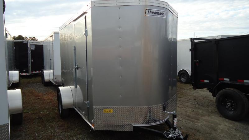 2020 Haulmark 6X10 PP S2 RAMP SILVER Enclosed Cargo Trailer