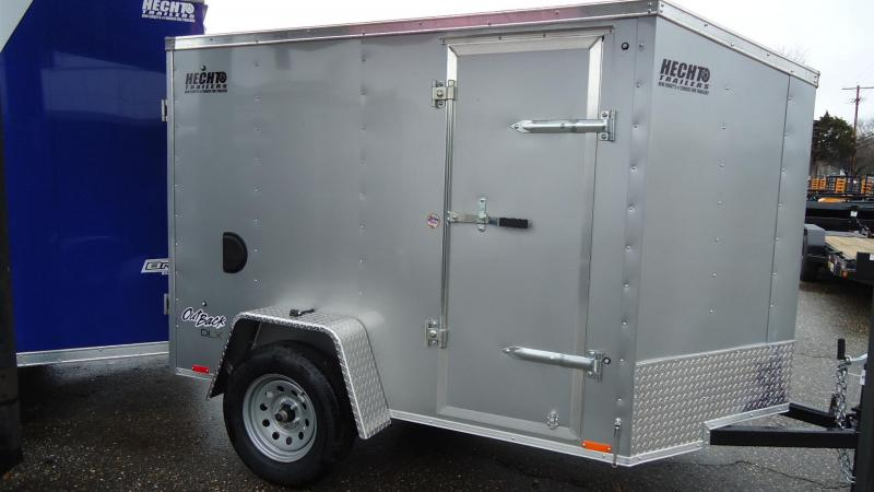 2020 Pace American 5X8 OBDLX SI2 24VS RAMP SD SVNT SILVER Enclosed Cargo Trailer