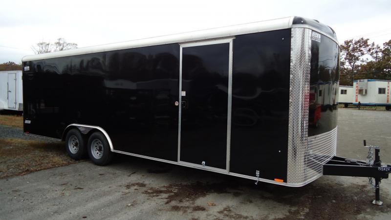 2020 Pace American 8.5X24 JTSE TE3 RAMP SVNT BLACK Car / Racing Trailer