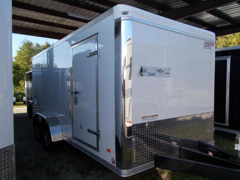 2020 Bravo Trailers 7X16 ST TA2 LND SCP WHITE Enclosed Cargo Trailer