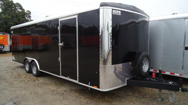 2020 Pace American 8.5X24 CLKS TE3 RAMP SVNTS BLACK Enclosed Cargo Trailer