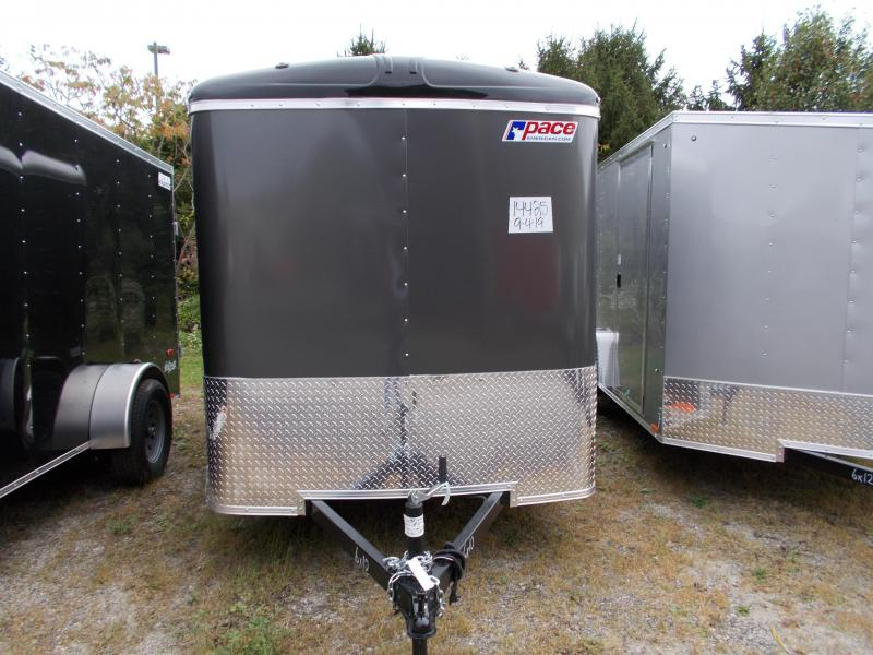 2020 Pace American 6X10 JT SI2 DRNG SVNT PEWTER Enclosed Cargo Trailer