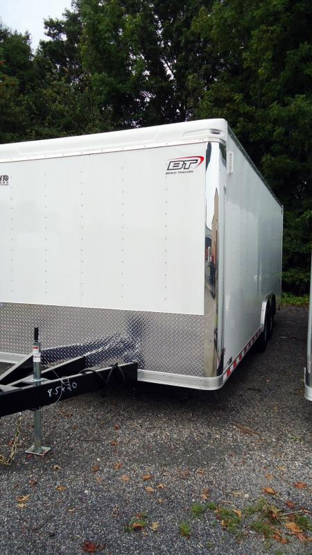 2020 Bravo Trailers 8.5 X 20 ST TA3 LNDSCP WHITE Enclosed Cargo Trailer