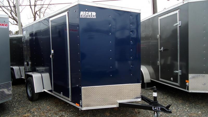 2021 Pace American 6X12 OBDLX SI2 24VS RAMP SVNT BLUE Enclosed Cargo Trailer