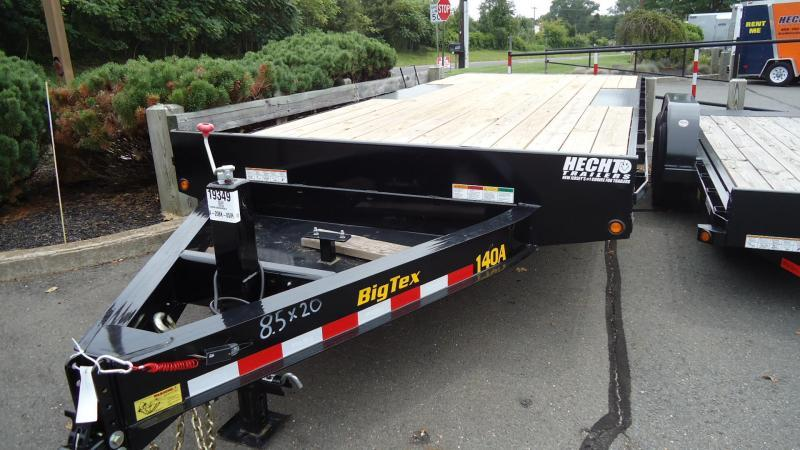 2020 Big Tex Trailers EH 8.5X20 14OA 20BK 8SIR BLACK Equipment Trailer