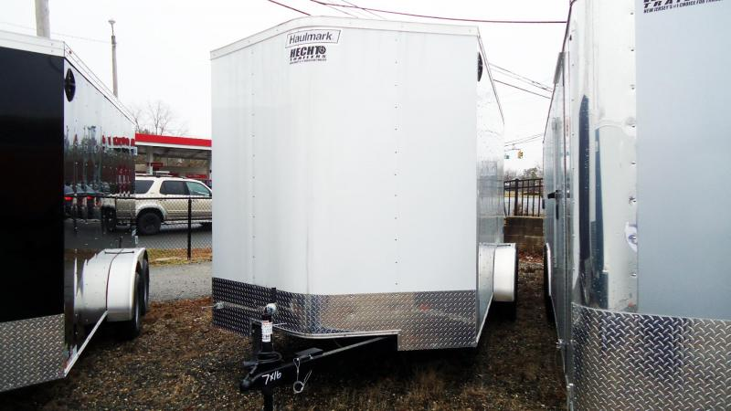 "2019 Haulmark 7X16 PP T2-D 6""X RAMP WHITE Enclosed Cargo Trailer"