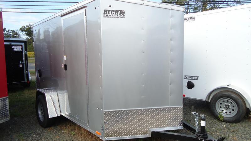 2021 Pace American 6X10 OBDLX SI2 24VS RAMP SVNT SILVER Enclosed Cargo Trailer