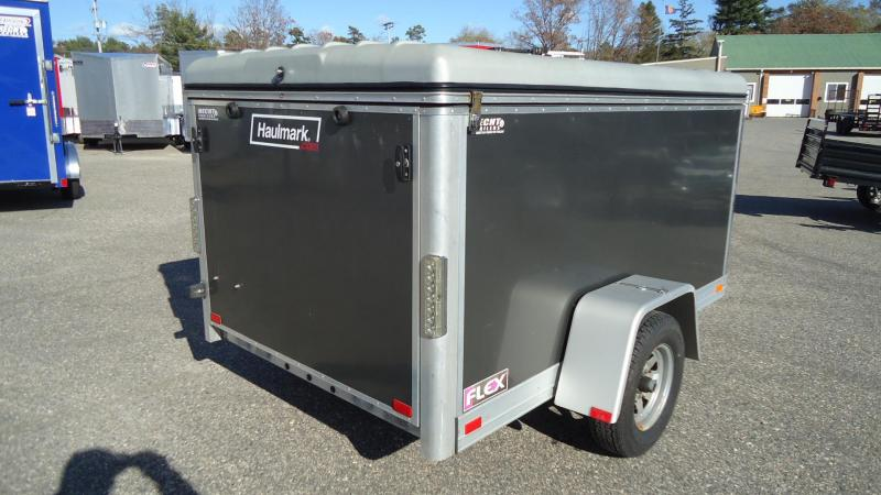 2011 Haulmark USED FLEX 5X8 Enclosed Cargo Trailer