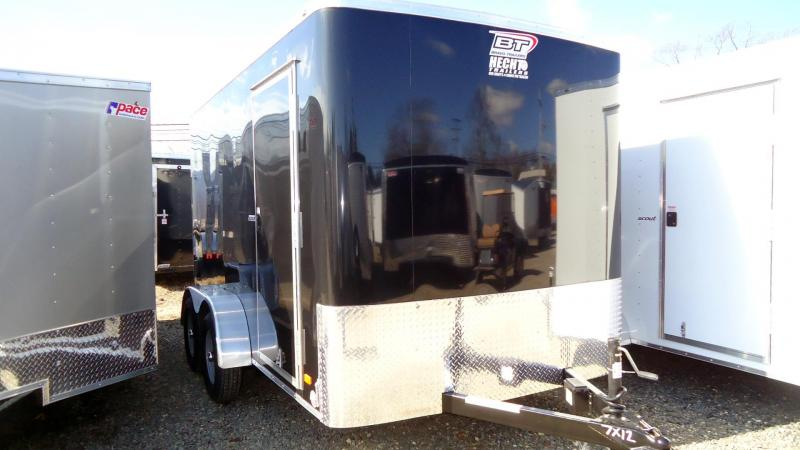 "2020 Bravo Trailers 7X12 SC+ TA2 6""X RAMP BLACK Enclosed Cargo Trailer"