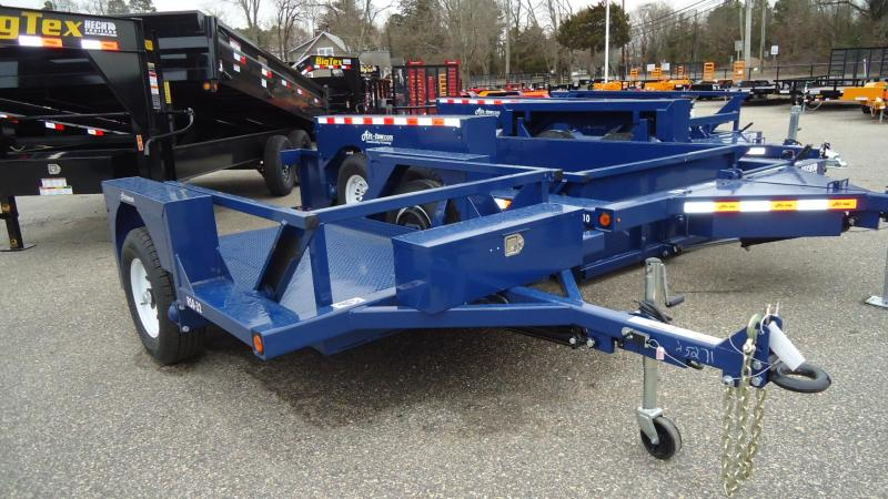 2020 Air Tow UT 4.5X8.5 RS8-32 BLUE Flatbed Utility Trailer