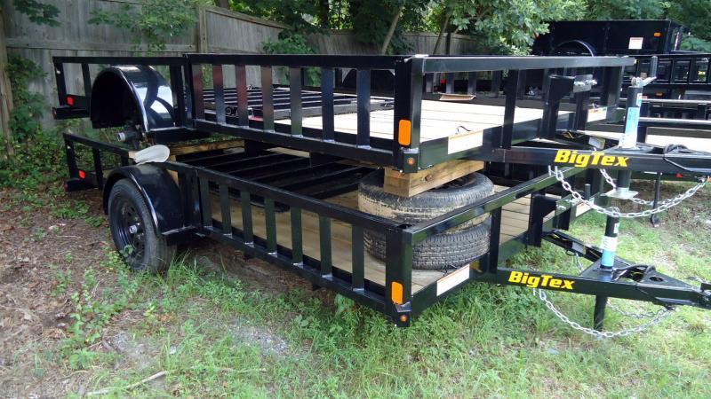 2020 Big Tex Trailers UT 7X12 35SA 12BK 4RG SX BLACK ATV Trailer