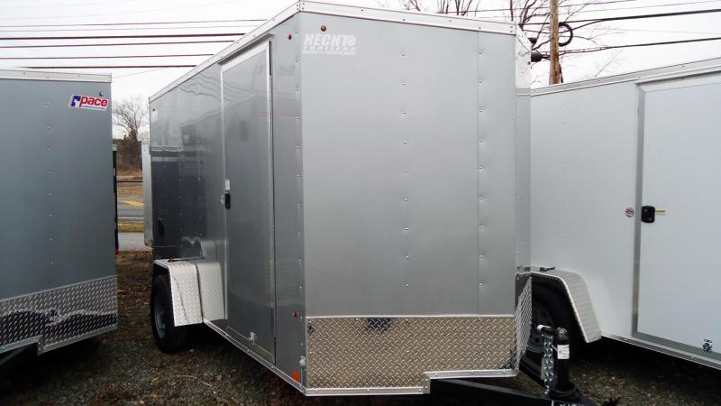 2020 Pace American 6X12 OBDLX SI2 24VS 6X STAB JCK RAMP SVNT SILVER Enclosed Cargo Trailer