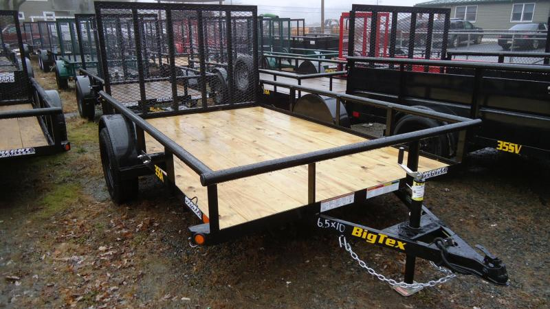 2020 Big Tex Trailers UT 6.5X12 35SA 12BK4RG BLACK Utility Trailer