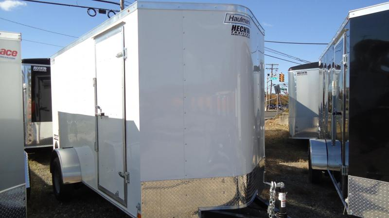 2020 Haulmark 6x12 PP S2 D RAMP WHITE Enclosed Cargo Trailer