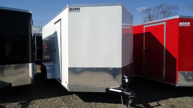 "2020 Bravo Trailers 7X14 SC TA2 6""X 30V APP VNT WHITE Enclosed Cargo Trailer"