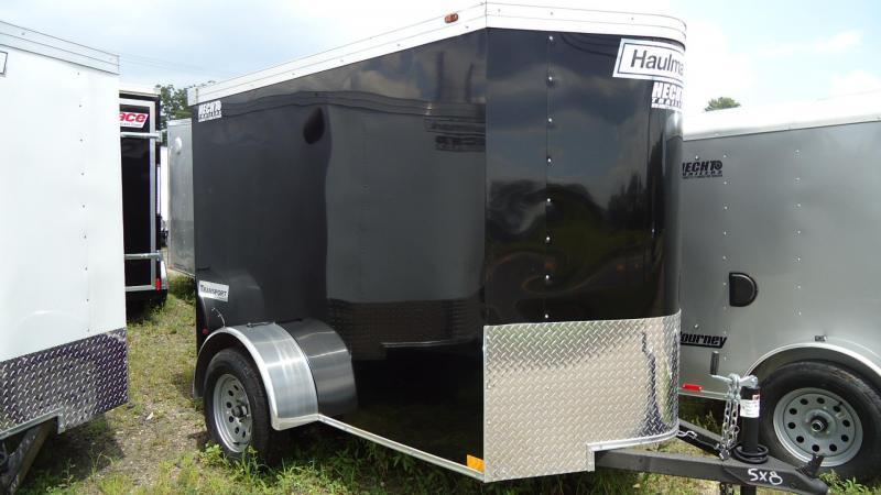 2019 Haulmark 5X8 TSV S2 RAMP BLACK Enclosed Cargo Trailer