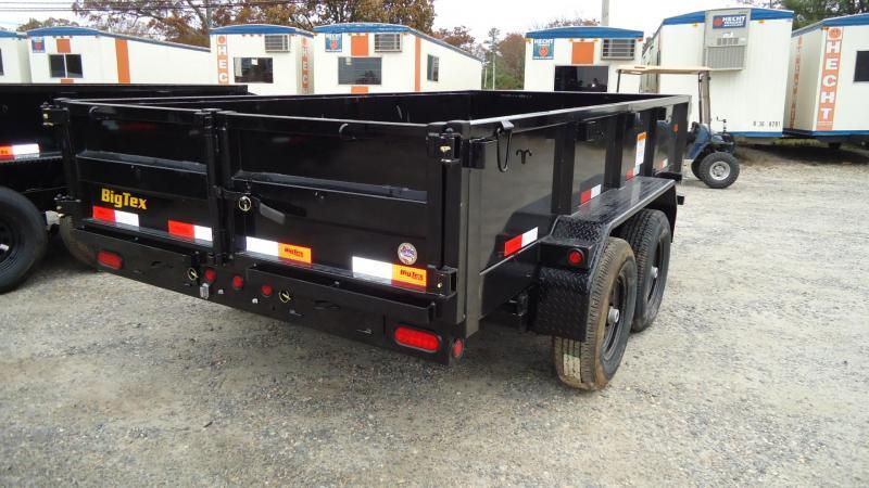 2020 Big Tex Trailers DT 6X10 90SR 10BK7SIR BLACK Dump Trailer