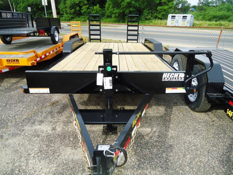 2020 Big Tex Trailers EH 7X18 14ET 18BK KR KNEE BLACK Equipment Trailer