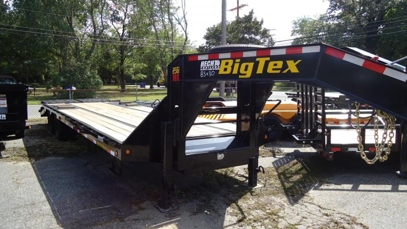 2020 Big Tex Trailers EH 8.5X30 25GN 25BK 5MR MEGA BLACK Equipment Trailer