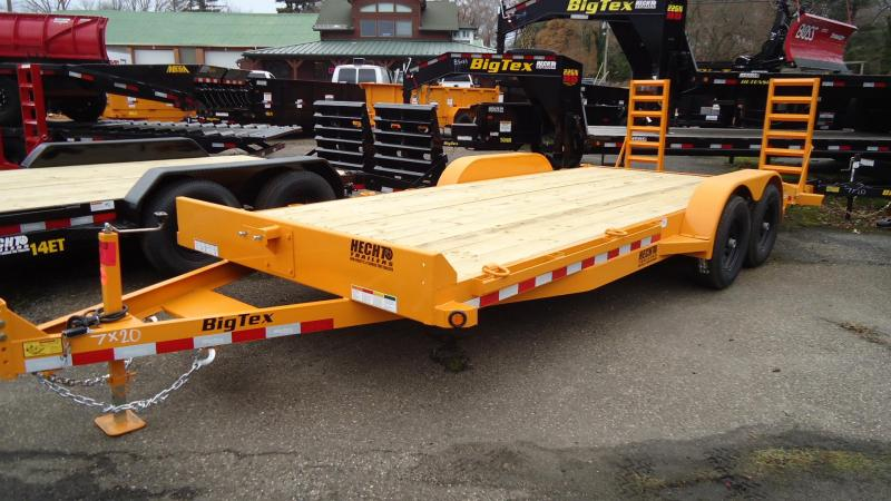 2020 Big Tex Trailers EH 7X20 10ET 20YE KR KNEE YELLOW Equipment Trailer