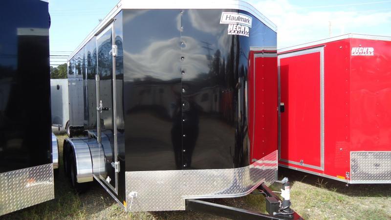 2020 Haulmark 7X14 PPT T2 RAMP SVNT BLACK Enclosed Cargo Trailer