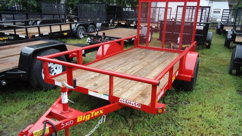 2020 Big Tex Trailers UT-5X10/30SA-10RD4RG/RED Utility Trailer