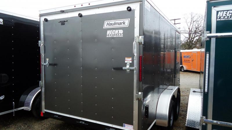 2020 Haulmark 7X14 PP T2-D RAMP CHARCOAL 1-14-20 Enclosed Cargo Trailer