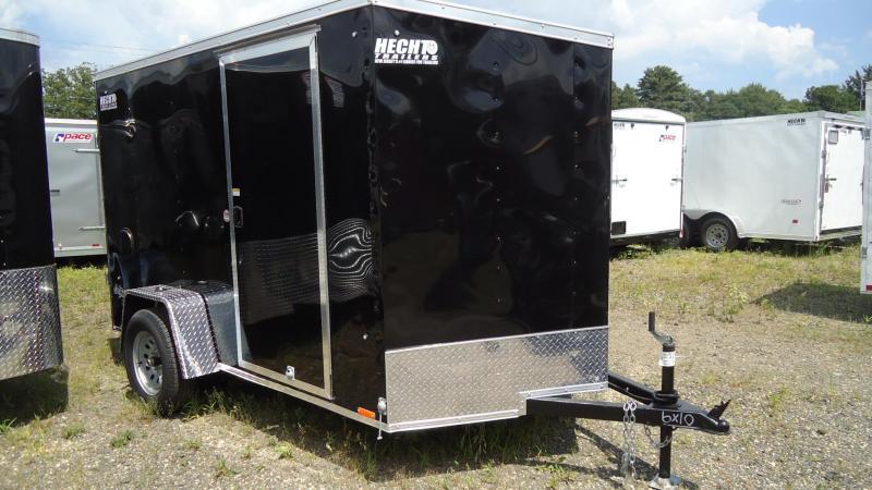 2020 Pace American 6X10 OBDLX SI2 24VS STA JKS RAMP SVNT BLACK Enclosed Cargo Trailer