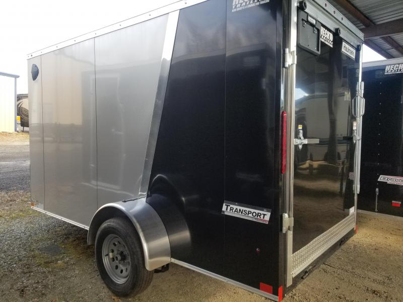 2020 Haulmark 6X12 TSV S2 RAMP SILVER & BLACK Enclosed Cargo Trailer
